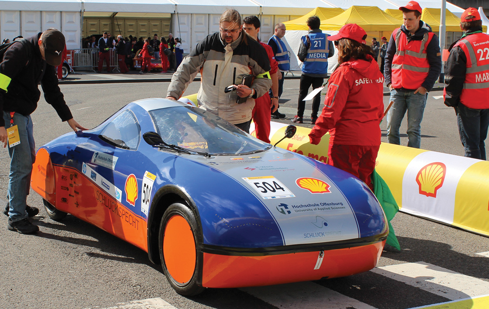 Eco-marathon Vehicle