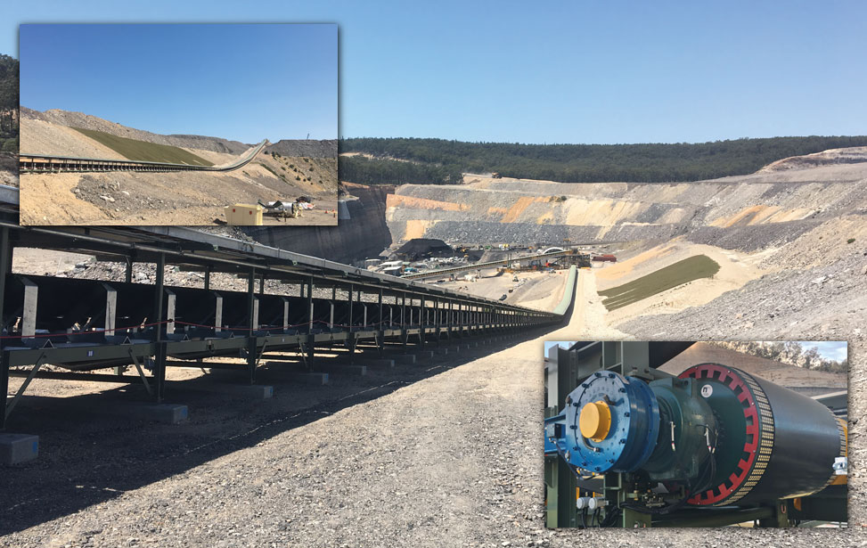 Inclined Coal Mine Conveyors