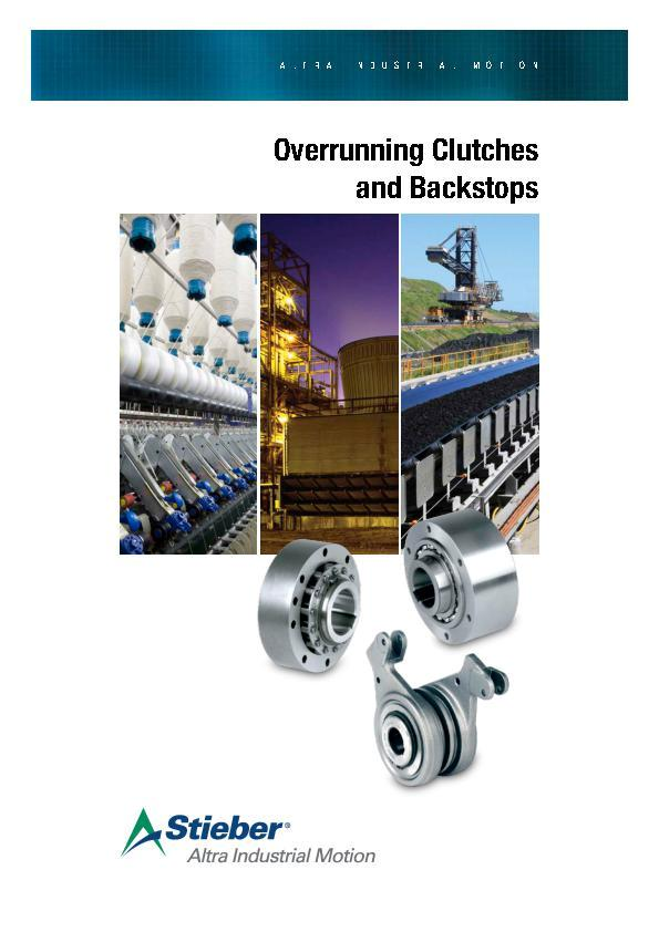 (A4) Overrunning Clutches & Backstops